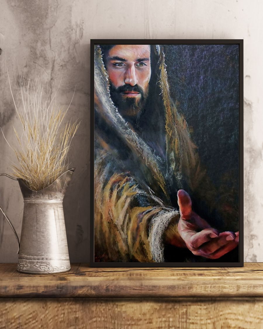 vintage Jesus give me your hand poster 5