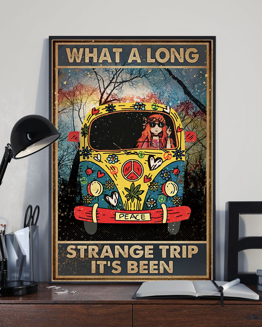 what a long strange trip its been hippie vintage poster 3