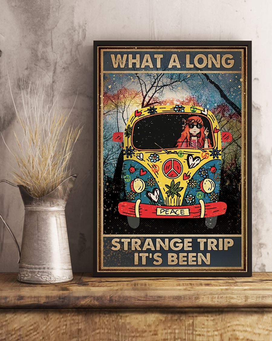 what a long strange trip its been hippie vintage poster 5