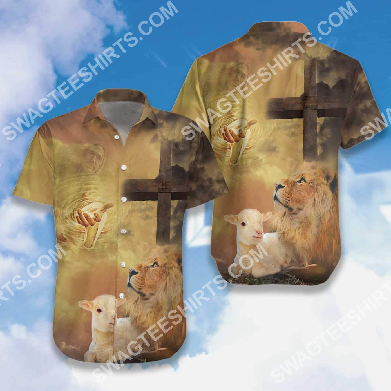 God let your faith be bigger than your fear all over printed hawaiian shirt 4(1)