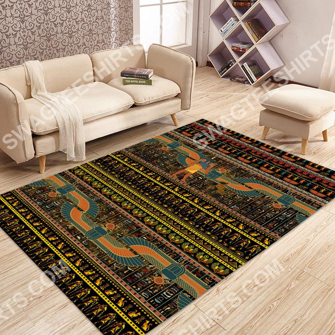 ancient egyptian culture all over printed rug 3(1)