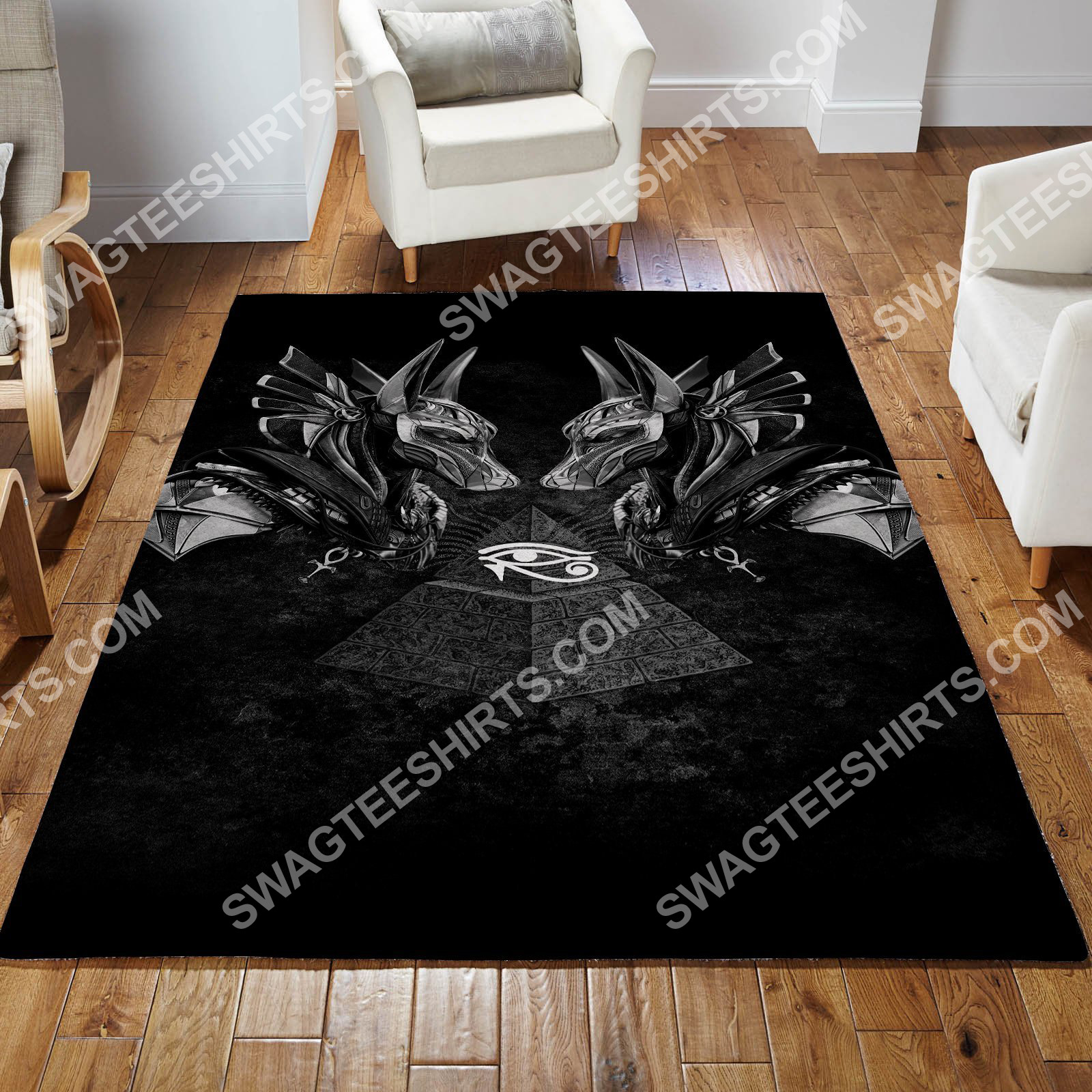 anubis god of the dead all over printed rug 2(1) - Copy