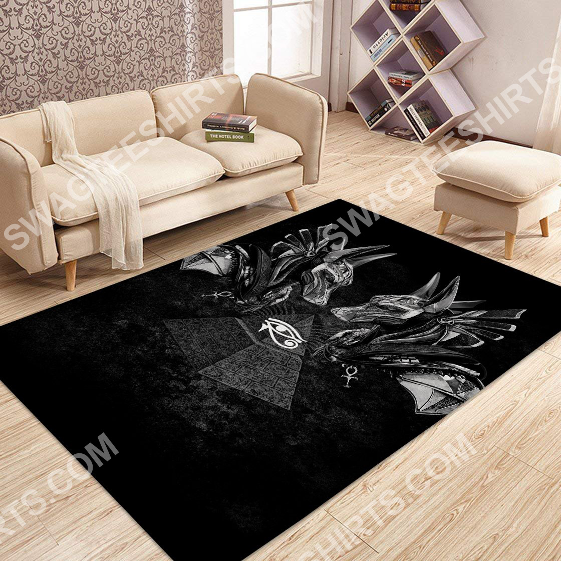 anubis god of the dead all over printed rug 3(1)