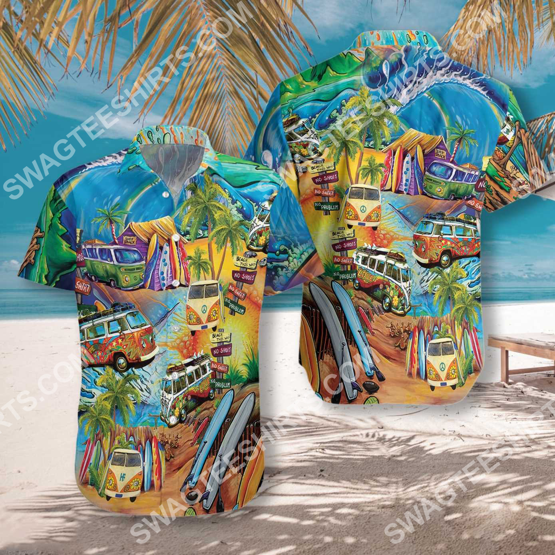 bus hippie version all over printed hawaiian shirt 2(1) - Copy