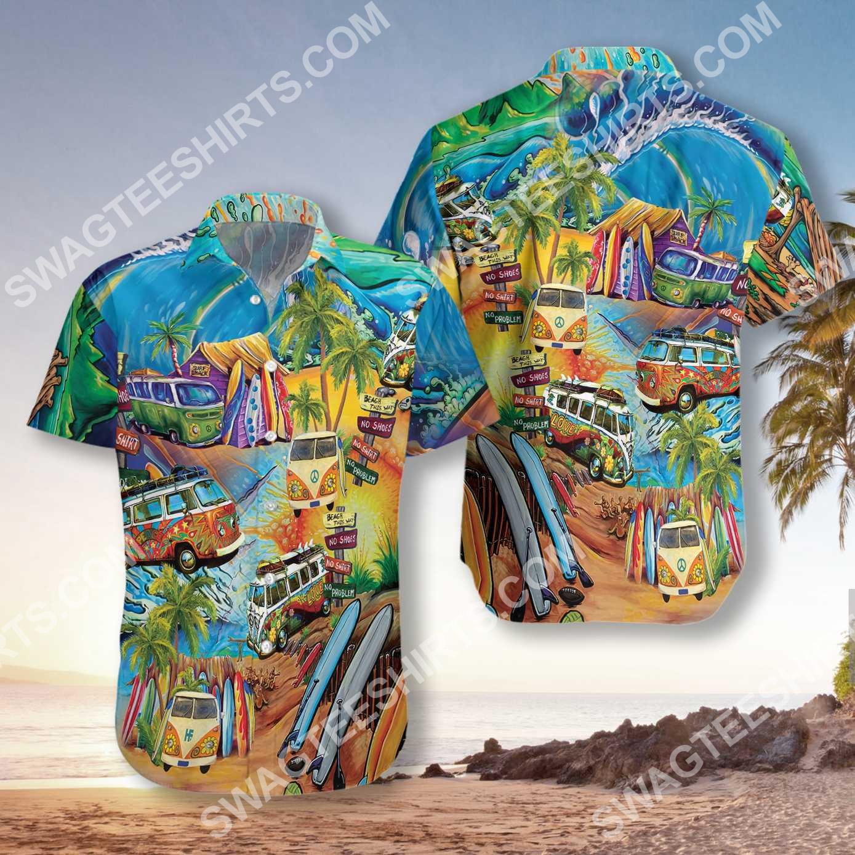 bus hippie version all over printed hawaiian shirt 3(1) - Copy