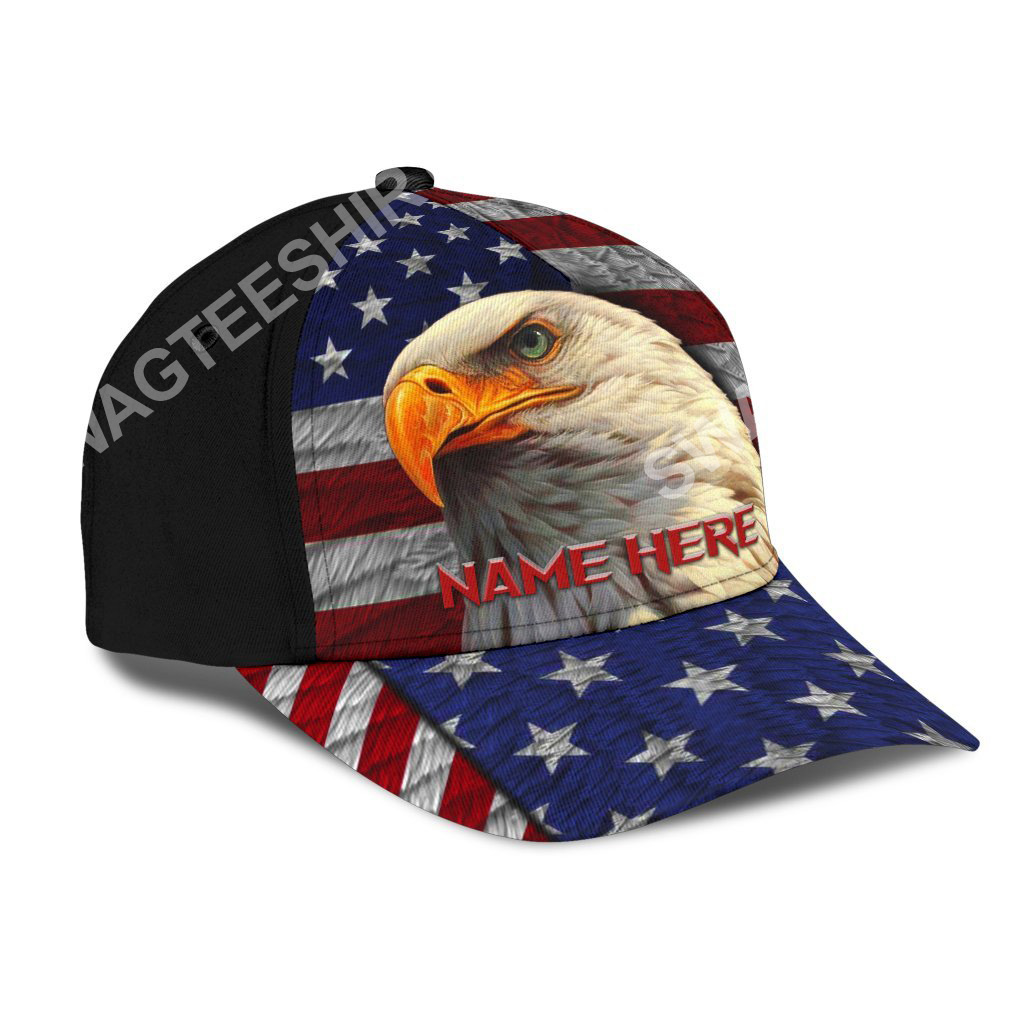 custom name american flag independence day all over printed classic cap 2(1)