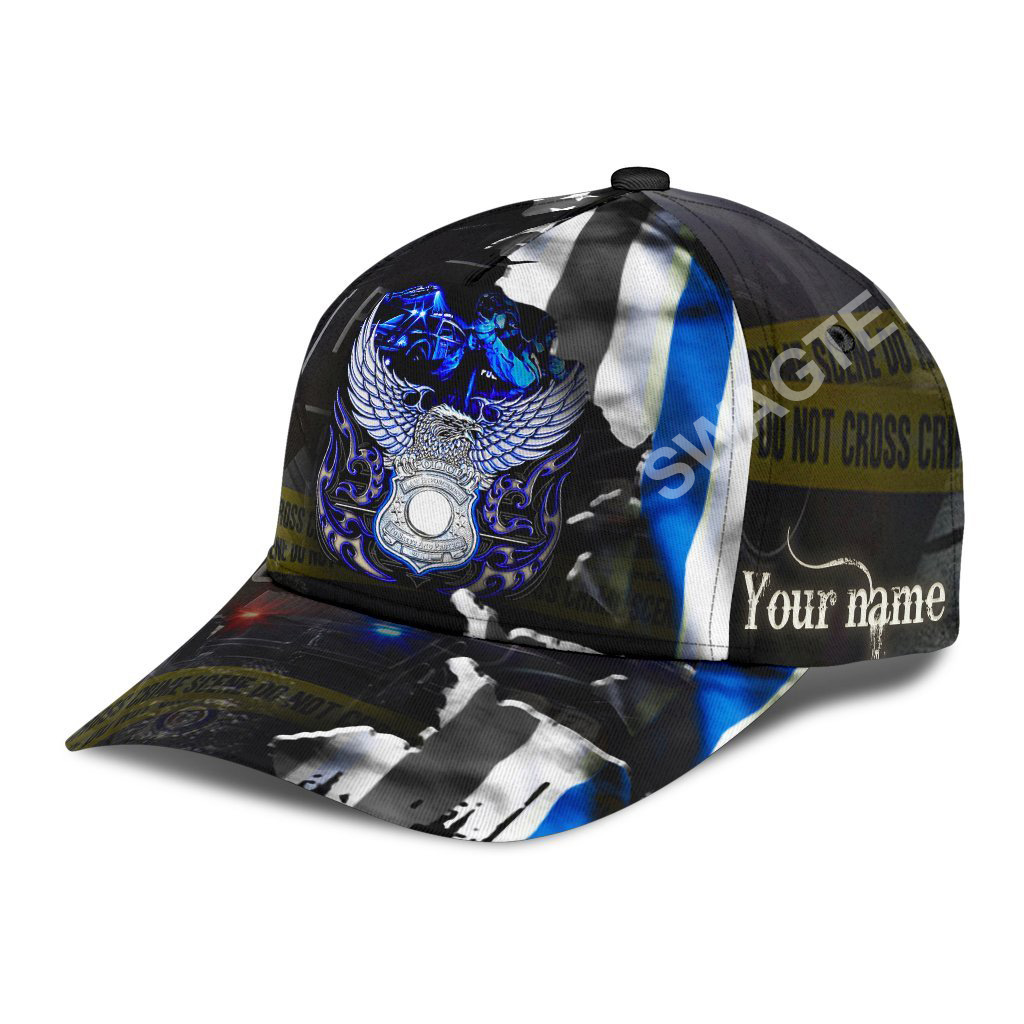 custom name eagle back the blue all over printed classic cap 2(1)