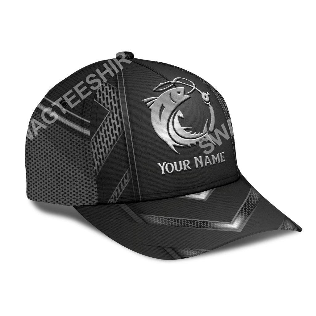 custom name fishing metal all over print classic cap 3(1)