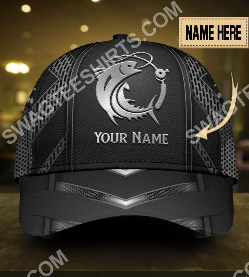 custom name fishing metal all over print classic cap 5(1)