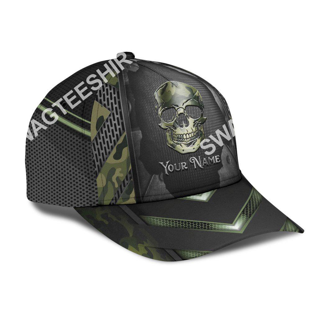 custom name skull camo all over printed classic cap 2(1)