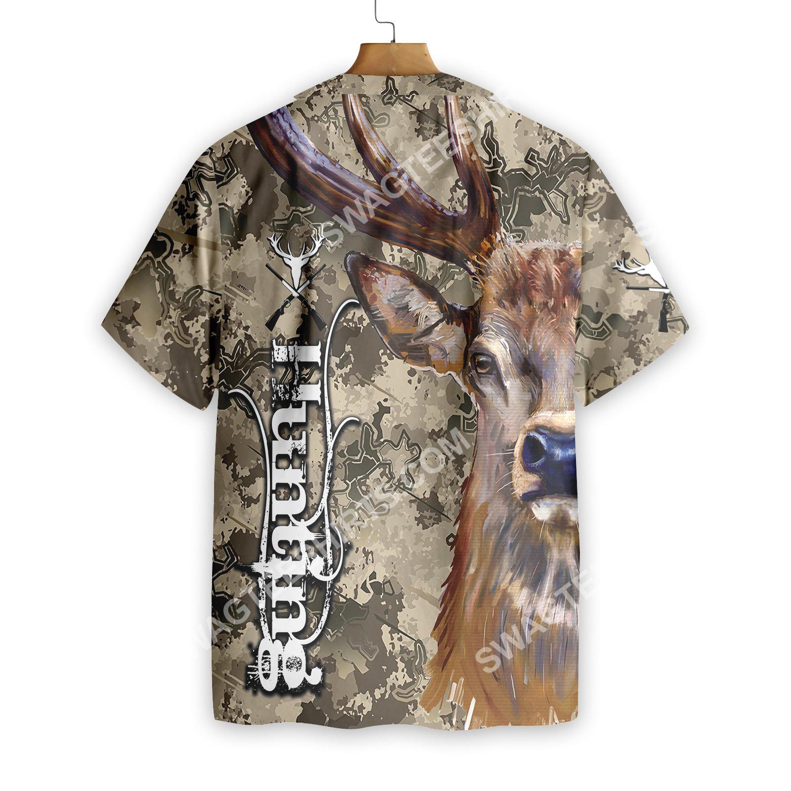 deer and camo hunting all over printed hawaiian shirt 4(1)