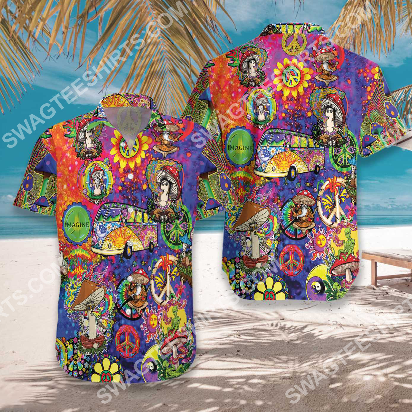 dont worry be hippie all over printed hawaiian shirt 2(1) - Copy
