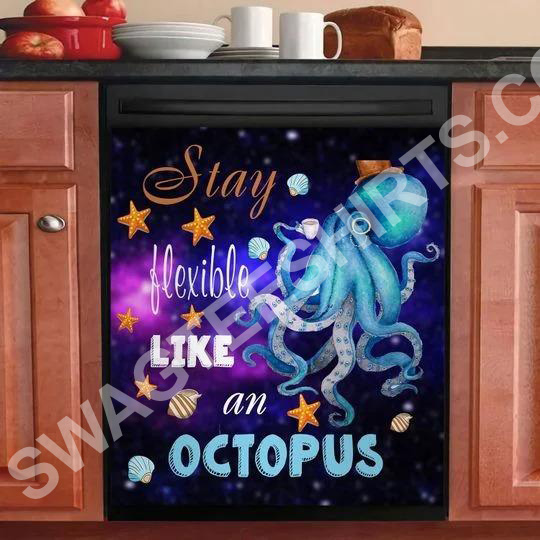 flexible like an octopus kitchen decorative dishwasher magnet cover 2 - Copy (3)