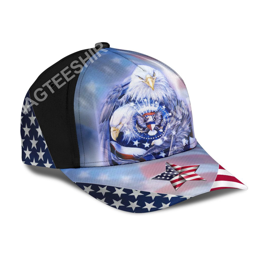 fourth of july american flag independence day all over printed classic cap 2(1)