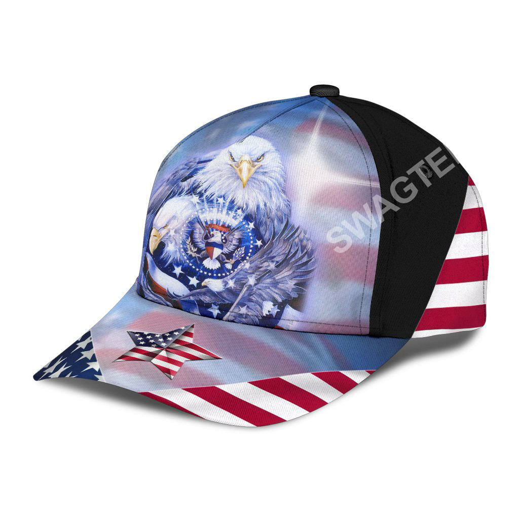 fourth of july american flag independence day all over printed classic cap 3(1)