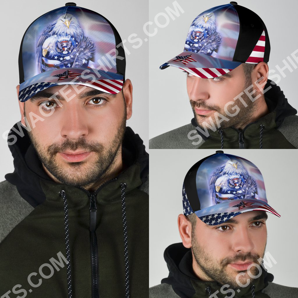 fourth of july american flag independence day all over printed classic cap 4(1)