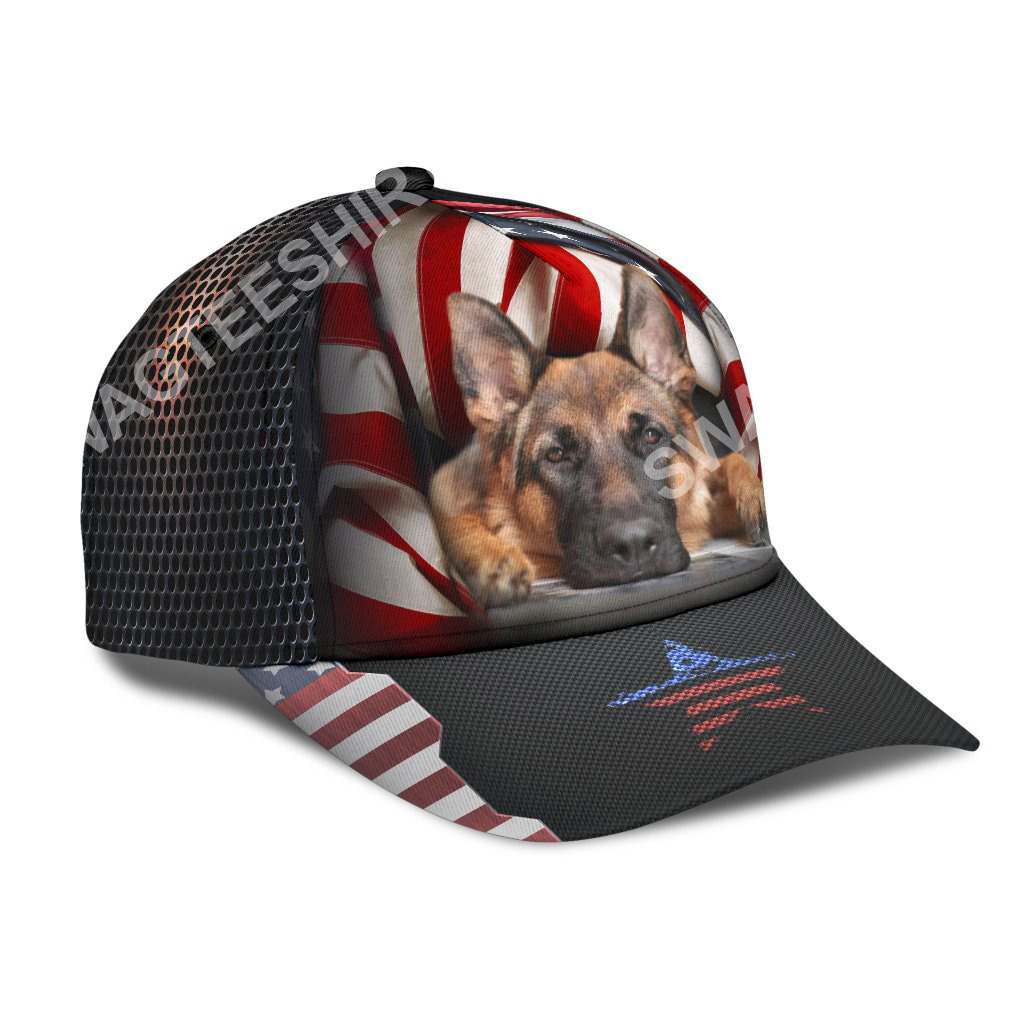 fourth of july american german shepherd all over printed classic cap 2(1)