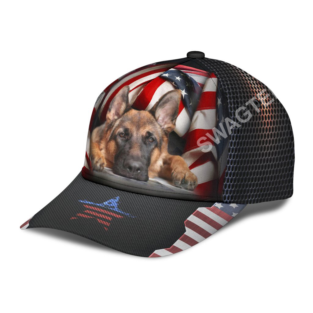 fourth of july american german shepherd all over printed classic cap 3(1)