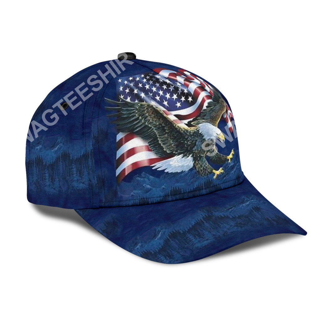 fourth of july independence day all over printed classic cap 2(1)