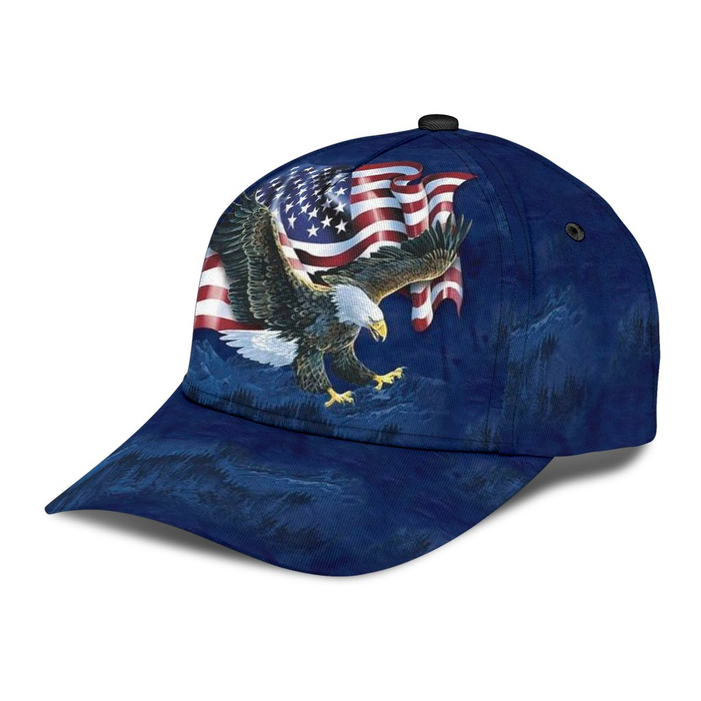 fourth of july independence day all over printed classic cap 3