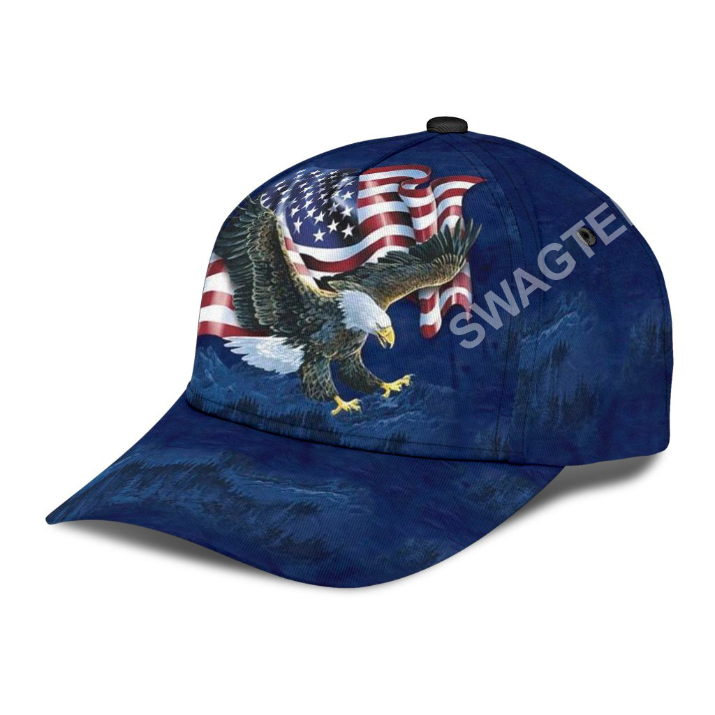 fourth of july independence day all over printed classic cap 3(1)