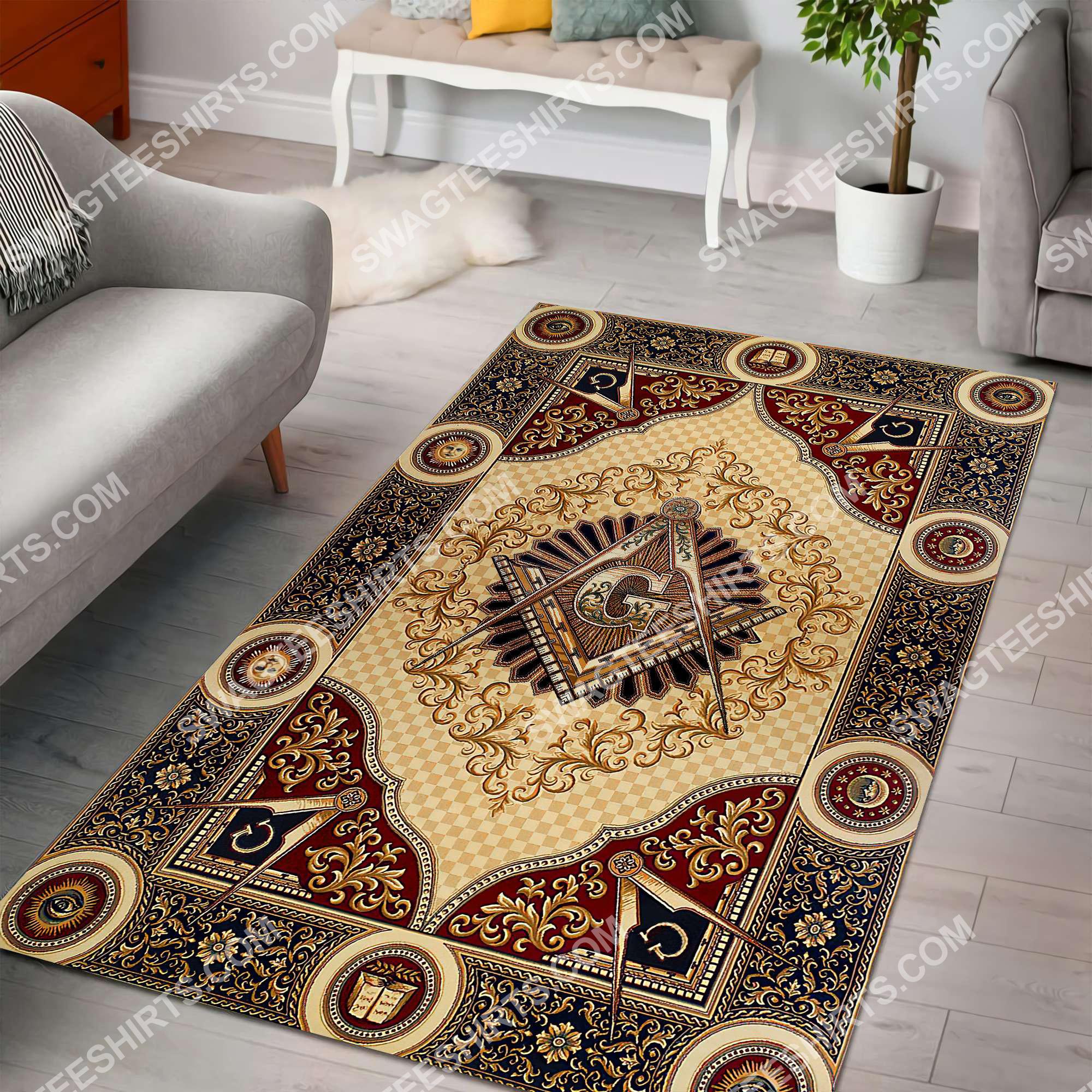 freemasonry masonic lodges all over printed rug 2(1)