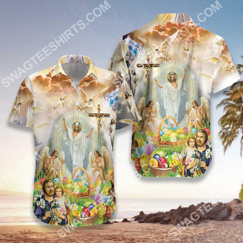 happy easter day God all over printed hawaiian shirt 3(1)