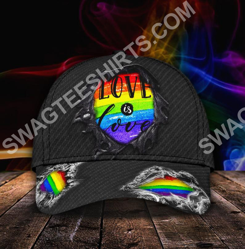 lgbt love is love all over print classic cap 5(1)