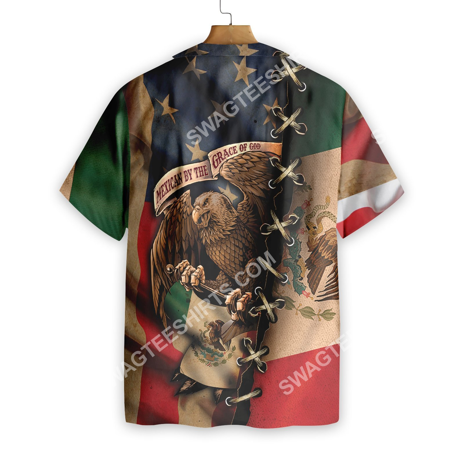 mexican and american flag all over printed hawaiian shirt 2(1)