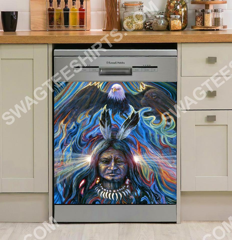 native american kitchen decorative dishwasher magnet cover 2