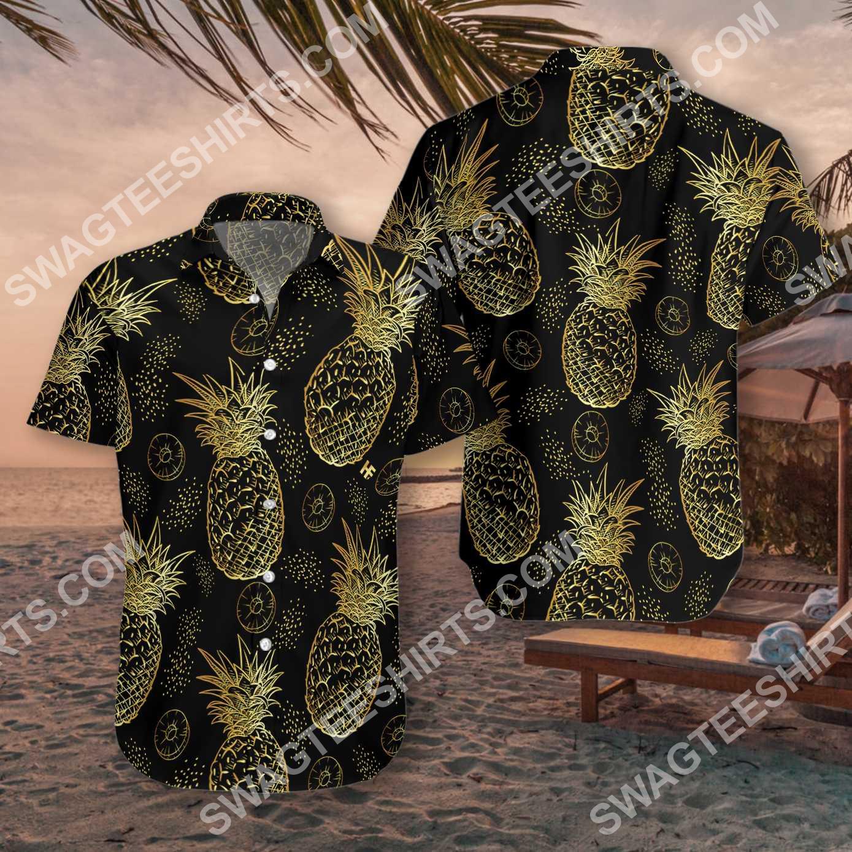 pineapple pattern all over printed hawaiian shirt 3(1)