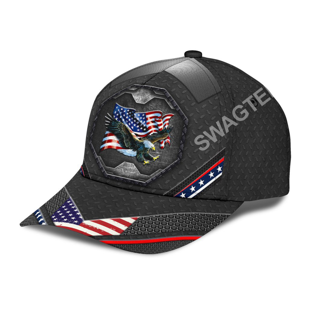 proud american eagle 4th july all over printed classic cap 3(1)