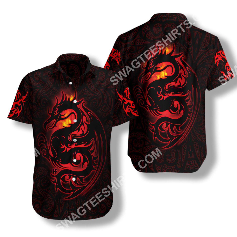 red dragon tattoo art all over printed hawaiian shirt 3(1)