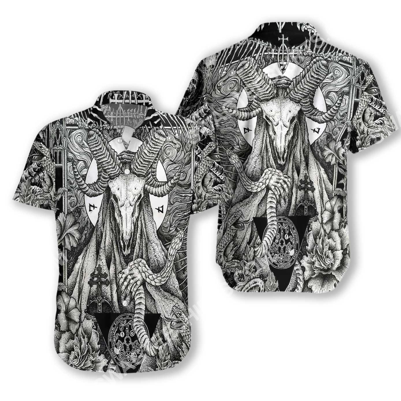 satanic pagan demon all over printed hawaiian shirt 3(1)