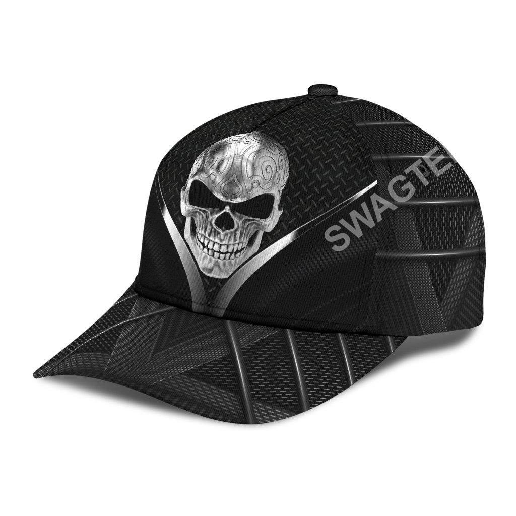 sugar skull metal all over printed classic cap 3(1)