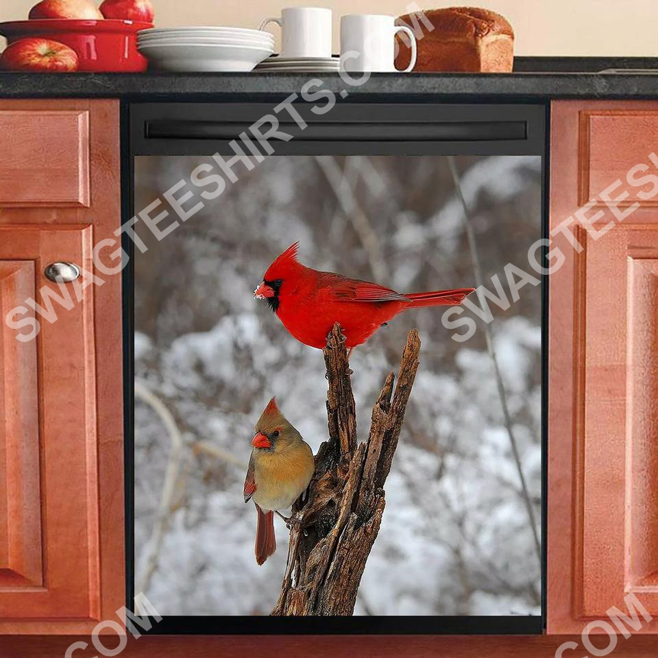 the cardinal kitchen decorative dishwasher magnet cover 2