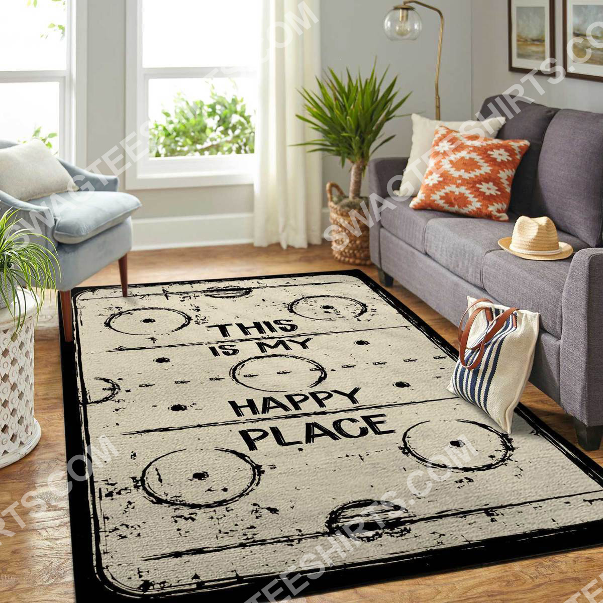 this is my happy place rectangle hockey all over printed rug 2(1)