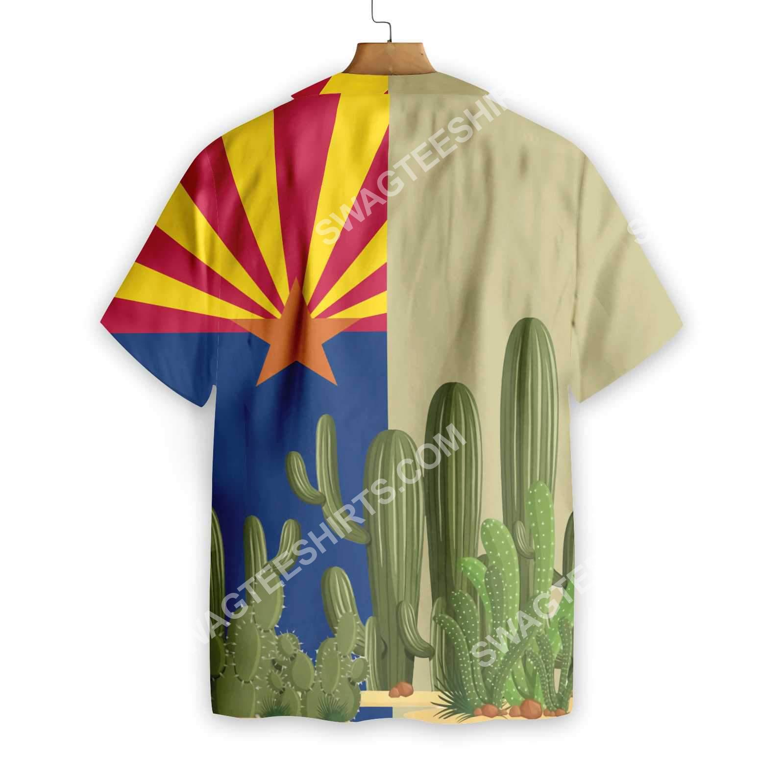 vintage arizona flag all over printed hawaiian shirt 2(1)