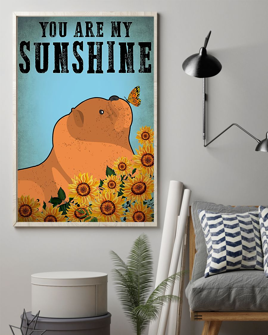vintage chow chow you are my sunshine poster 2