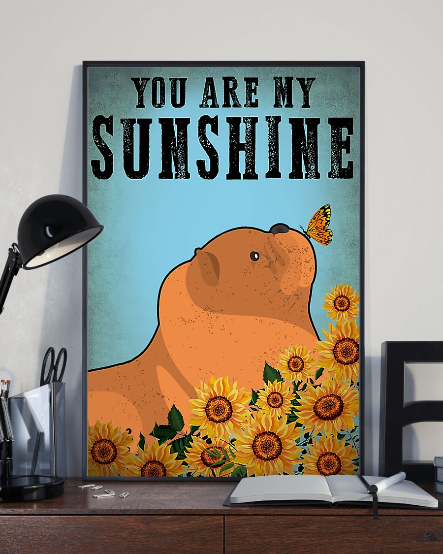vintage chow chow you are my sunshine poster 3