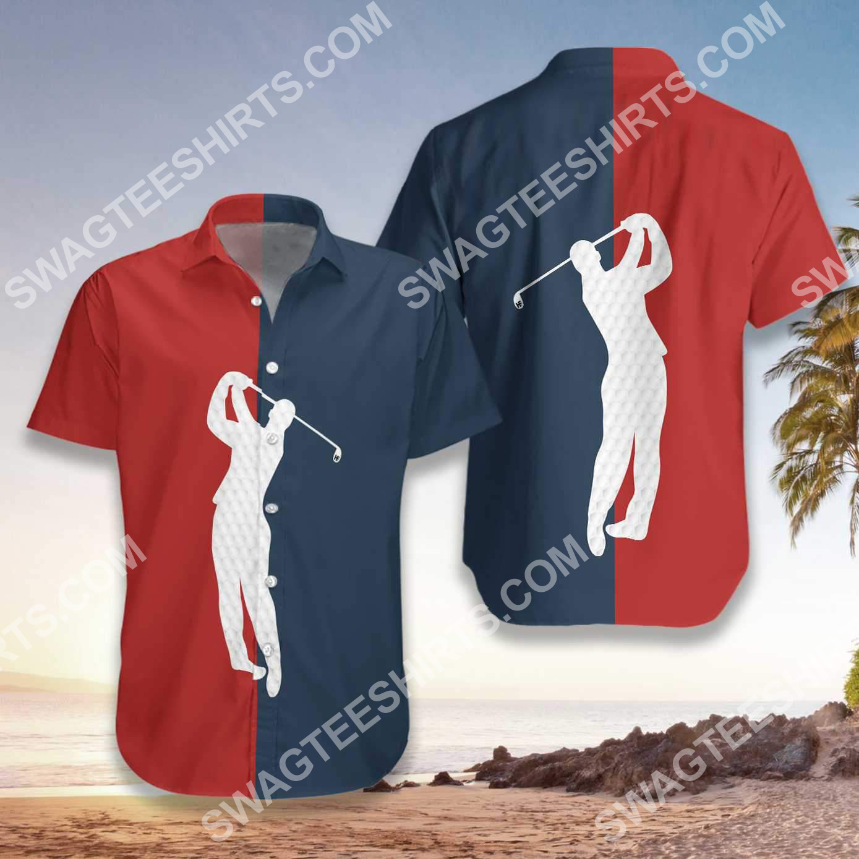 vintage golf lover all over printed hawaiian shirt 2(1)