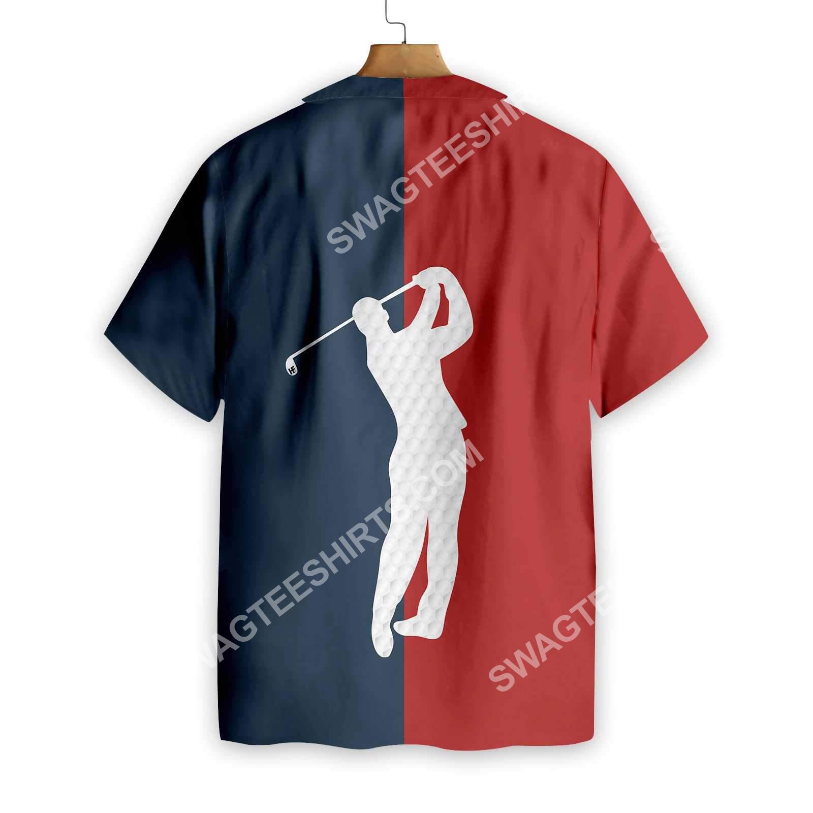 vintage golf lover all over printed hawaiian shirt 4(1)