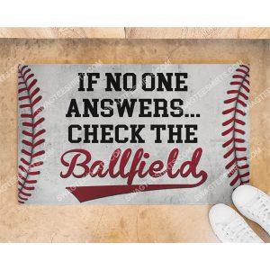 baseball if no one answer check the ballfield doormat 2(1)