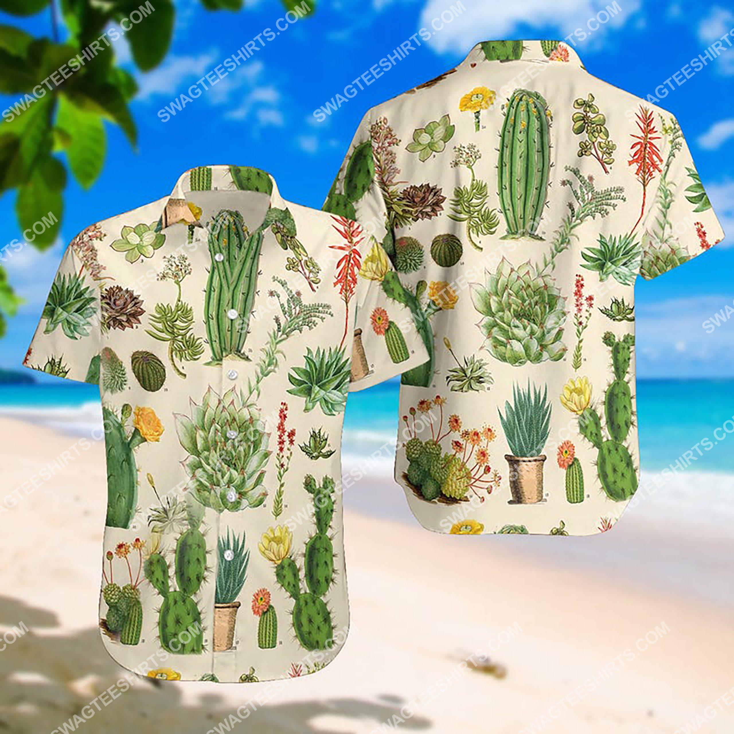 the cactus summer vacation all over print hawaiian shirt 2(1) - Copy