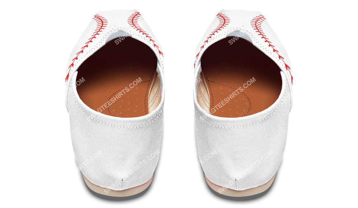 baseball lovers all over printed toms shoes 3(1)