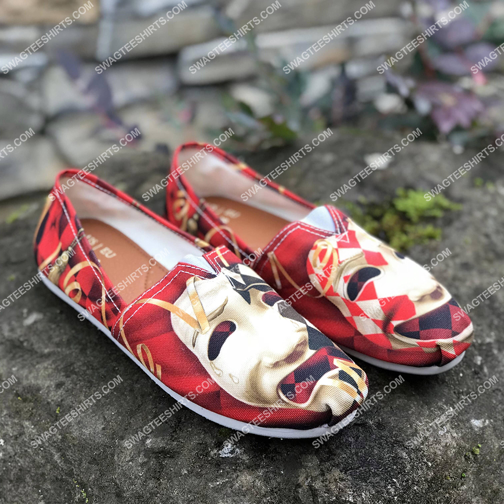 comedy and tragedy all over printed toms shoes 2(1) - Copy