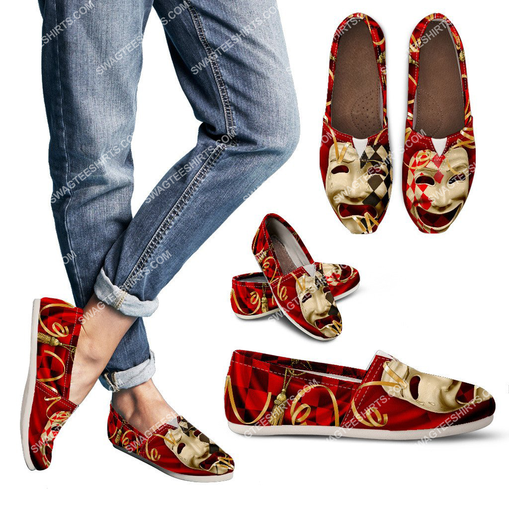 comedy and tragedy all over printed toms shoes 3(1) - Copy