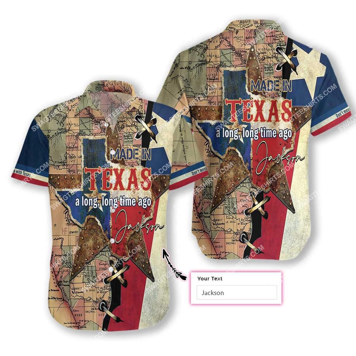 custom name made in texas a long long time ago all over printed hawaiian shirt 1(1)