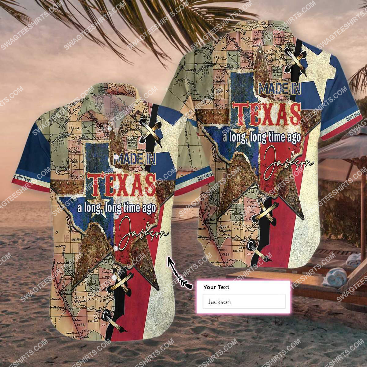 custom name made in texas a long long time ago all over printed hawaiian shirt 2(1) - Copy