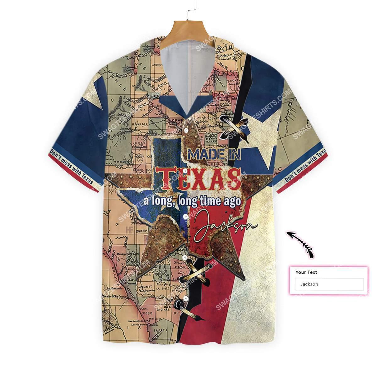 custom name made in texas a long long time ago all over printed hawaiian shirt 3(1)